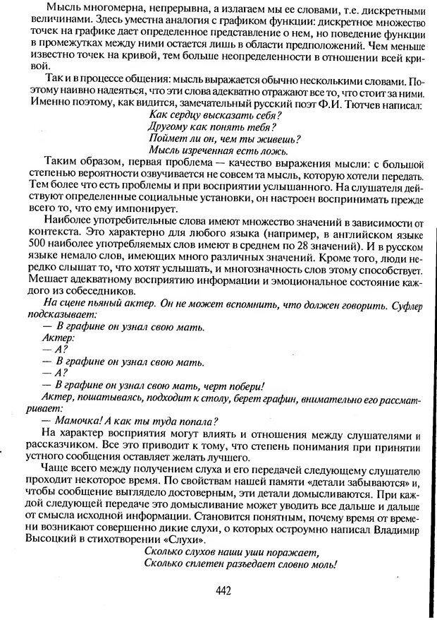 DJVU. Психологическое влияние. Шейнов В. П. Страница 442. Читать онлайн