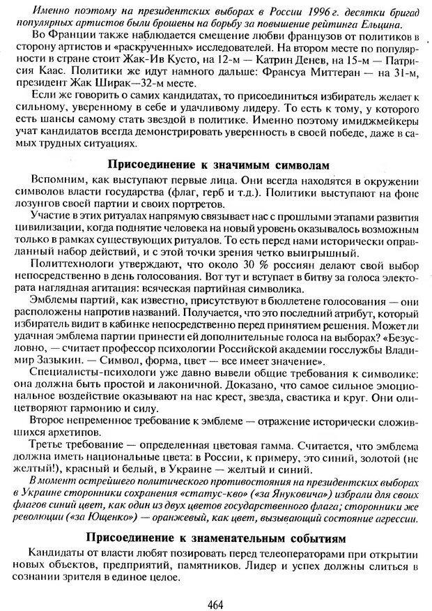 DJVU. Психологическое влияние. Шейнов В. П. Страница 464. Читать онлайн