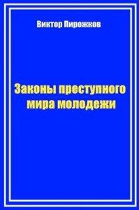 """Обложка книги """"Законы преступного мира молодежи"""""""